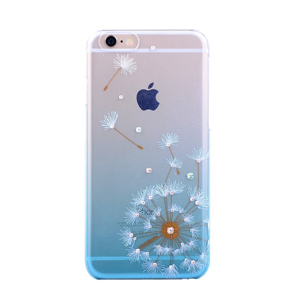 Чехол-накладка для Apple iPhone 6/6S - Kingxbar Dandelion Flower синий