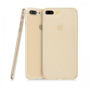 Полупрозрачный чехол Baseus Slim золотой для iPhone 8 Plus/7 Plus