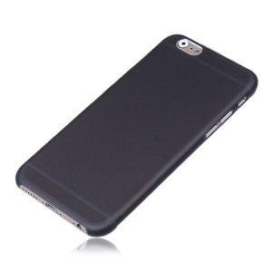 Силіконовий чохол Ultrathin Frosted чорний для iPhone 6 / 6S Plus