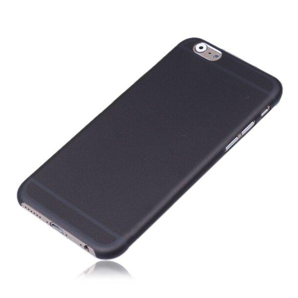 Силиконовый чехол Ultrathin Frosted черный для iPhone 6/6S Plus