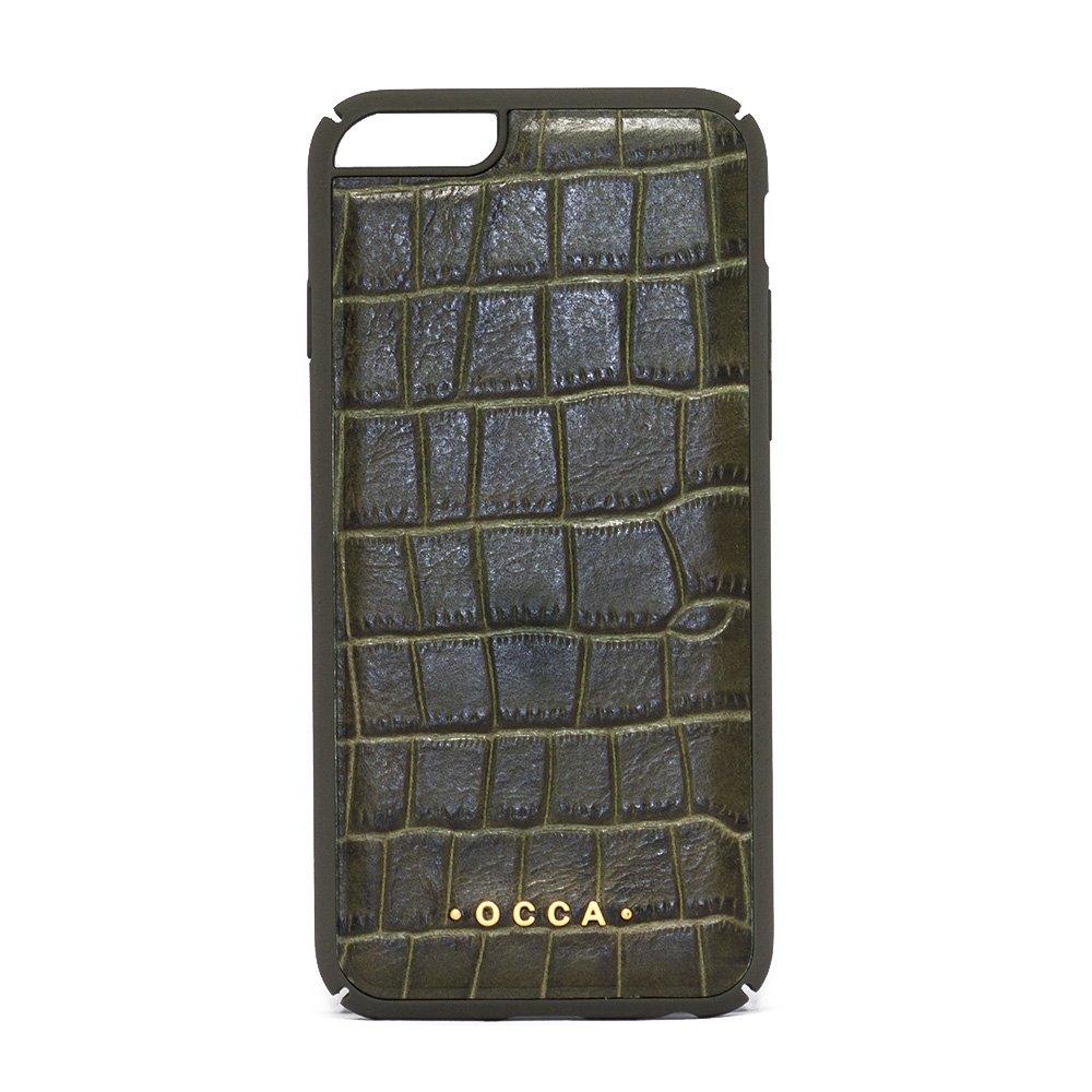 Чехол-накладка для Apple iPhone 6/6S - OCCA Skin коричневый