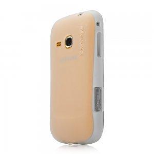 Чехол-накладка для Samsung Galaxy Mini II S6500 - Capdase Xpose белый
