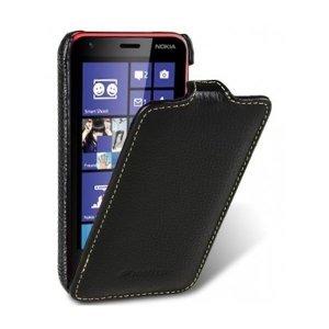 Чехол-флиппер для Nokia Lumia 620 - Melkco Jacka Face Cover Book черный