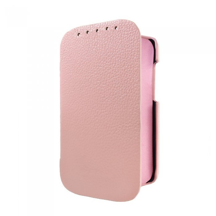 Чехол-книжка для HTC Desire C A320e - Melkco Jacka Face розовый
