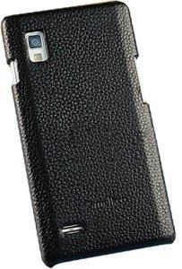 Чехол-накладка для LG Optimus L9 - Melkco Snap чёрный