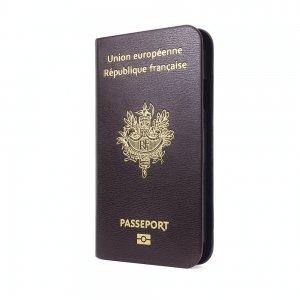 Чехол-книжка для Samsung Galaxy S4 - Ozaki O!coat Worldpass France бордовый