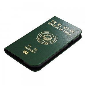 Чехол-книжка для Samsung Galaxy S4 - Ozaki O!coat Worldpass Korea зелёный