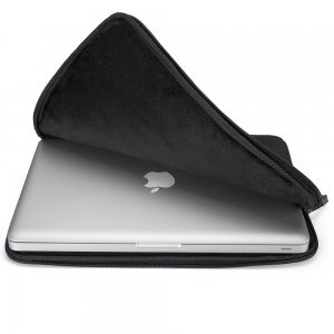 "Чехол-карман для Apple MacBook 13"" - Runetz Soft Sleeve черный"