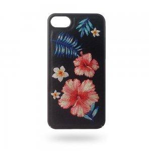 Кожаный чехол Polo Hawaii черный для iPhone 8/7/6/6S//SE 2020
