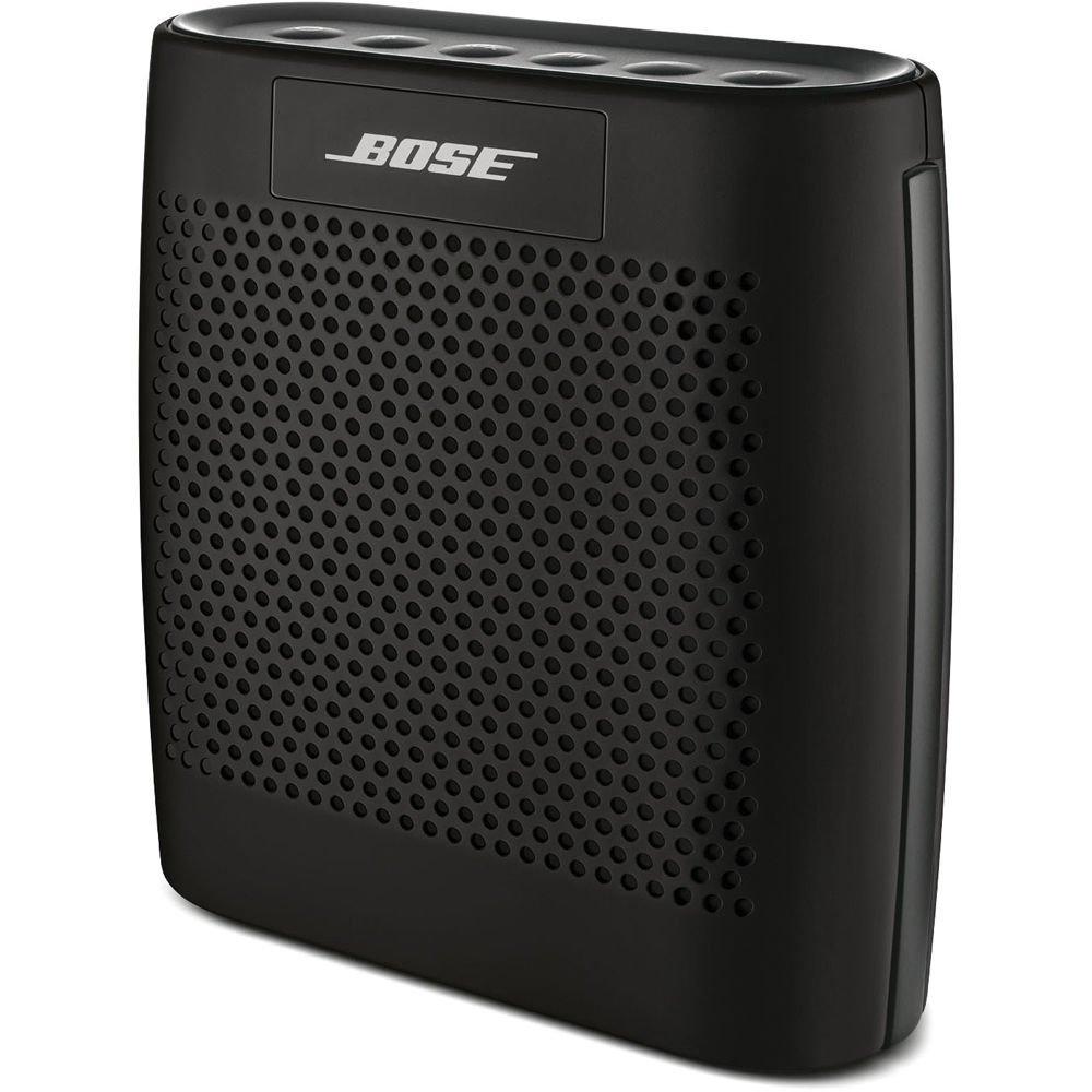 Портативная колонка Bose Soundlink Colour Bluetooth Speaker черная