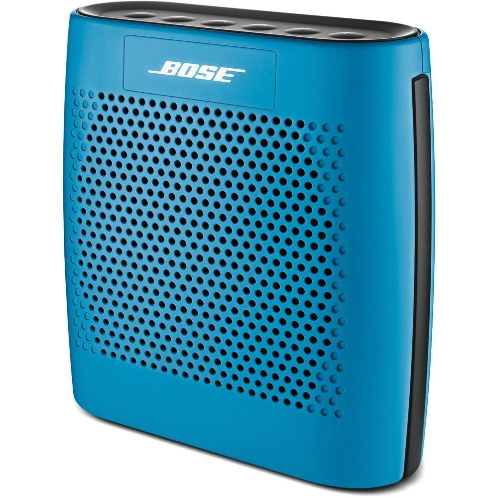 Портативная колонка Bose Soundlink Colour Bluetooth Speaker синяя