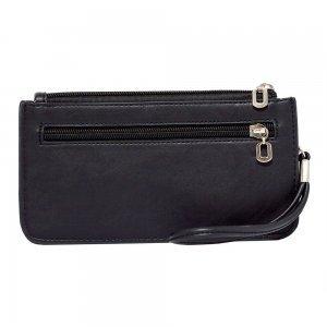 Кошелек с карманом для смартфона LGD черный