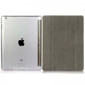 Чехол-книжка для Apple iPad 2/3/4 - BGR Perfect серый