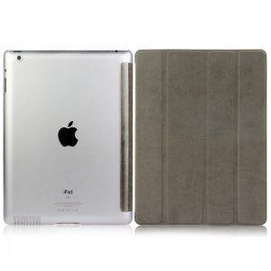 Чехол-книжка для Apple iPad 2/3/4 - BGR Perfect серый