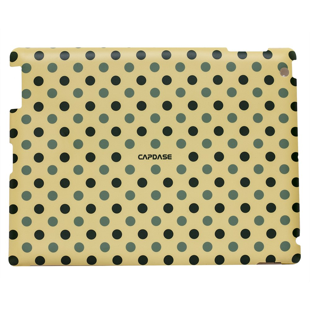 Наклейка для Apple iPad 2/3/4 - Capdase ProSkin Polka бежевая