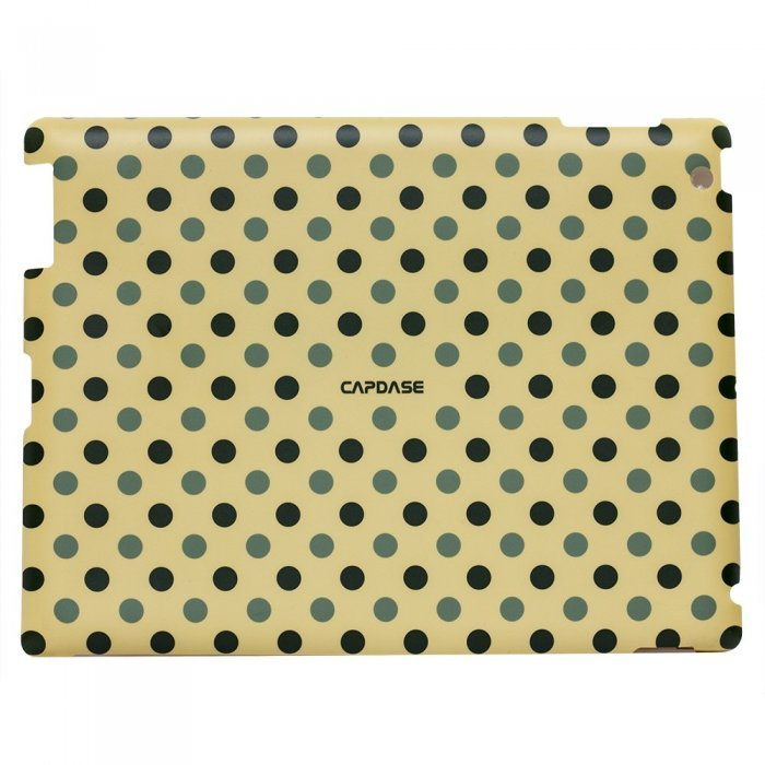 Наклейка для Apple iPad 2/3/4 - Capdase ProSkin Polka бежевая