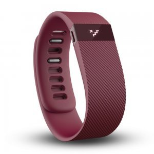 Фитнес браслет Fitbit Charge S красный