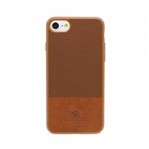 Кожаный чехол Polo Prestige коричневый для iPhone 8 Plus/7 Plus