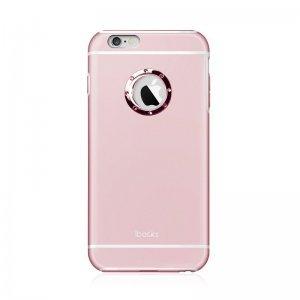 Чехол-накладка для Apple iPhone 6 Plus/6S Plus - iBacks Armour Crystal Diamond Cartier розовый