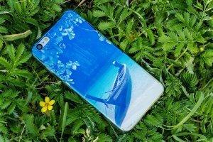 Чехол-накладка для Apple iPhone 6 Plus - лодка на озере