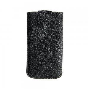 Кожаный чехол (карман) SkinsUA Ramp черный для iPhone 6/6S/7