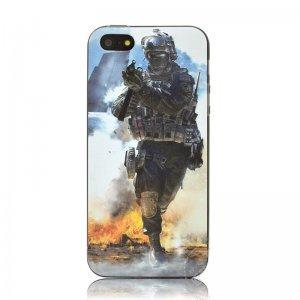 Чехол с рисунком Battlefield для iPhone 5/5S/SE