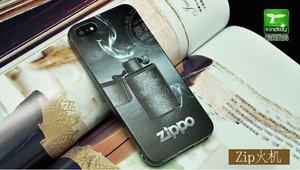 Чехол с рисунком Zippo для iPhone 5/5S/SE