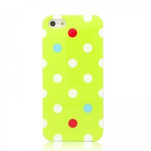 Чехол с рисунком Kindtoy зеленый для iPhone 5/5S/SE
