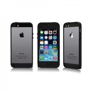 Чехол-бампер для Apple iPhone 5/5S - Kindtoy черный