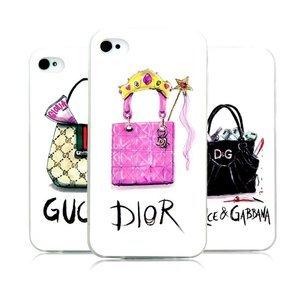Чехол-накладка для Apple iPhone 5/5S - Kindtoy Brands Dior