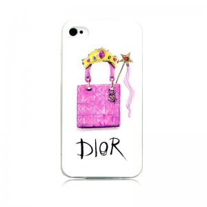 Чехол-накладка для Apple iPhone 5/5S - Kindtoy Brands Dior