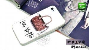 Чехол-накладка для Apple iPhone 5/5S - Kindtoy Brands Lous Vuitton