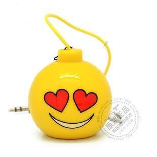 Портативная колонка Kindtoy Bomb Loving желтая