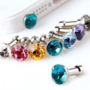 Заглушка для разъема 3,5 мм - Kindtoy Diamond синяя