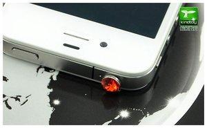 Заглушка для разъема 3,5 мм - Kindtoy Diamond красная