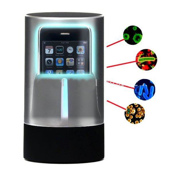Стерилизатор для смартфонов Multi-functional Portable Automatic UV серебристый