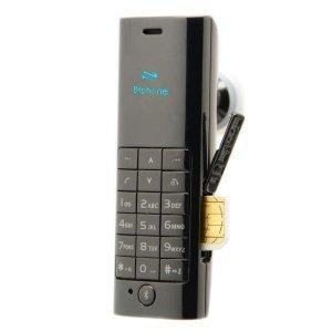 Bluetooth-гарнитура Mini D1 с поддержкой SIM-карт черная