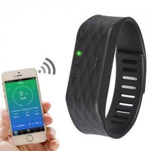 Фитнес браслет WG Flex Bluetooth черный