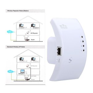 Беспроводной ретранслятор усилитель Wi-Fi сигнала 300Mbps с функцией WPS