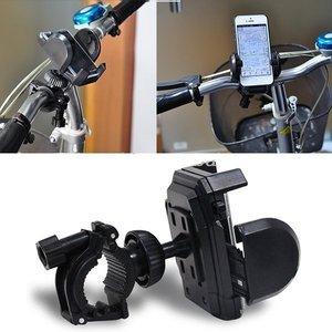 Универсальный велодержатель для смартфона черный