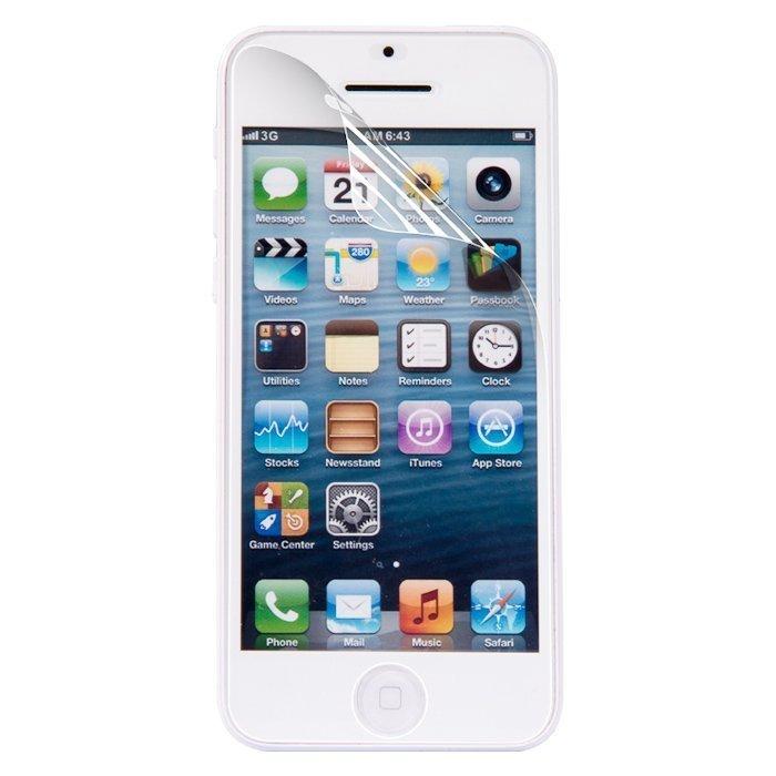 Защитная пленка Ultra-thin Ultimate Shock Absorption прозрачная, глянцевая для iPhone 5/5S/SE