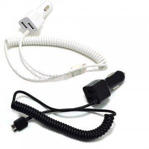 Автомобильное зарядное устройство для Samsung Galaxy Note 3 - Micro USB Premium Charger Cable with 2 USB Output белое