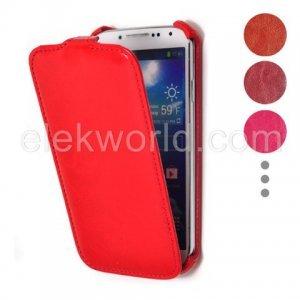 Чехол-флиппер для Samsung Galaxy S4 - Smooth Sheepskin Texture черный