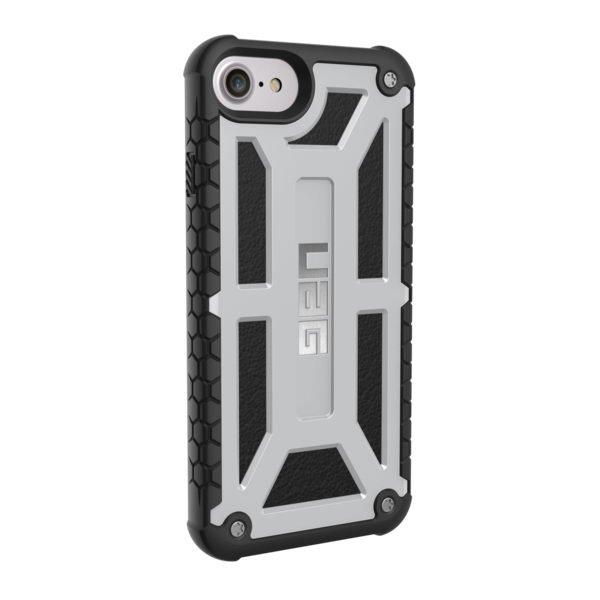 Чехол-накладка для Apple iPhone 8/7/6S/6 - Urban Armor Gear Monarch белый + чёрный