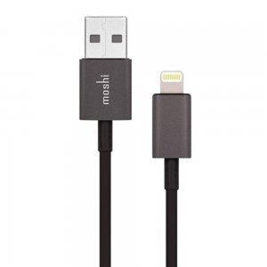 Кабель Lightning для Apple iPhone/iPad/iPod - Moshi Lightning to USB 1м чёрный