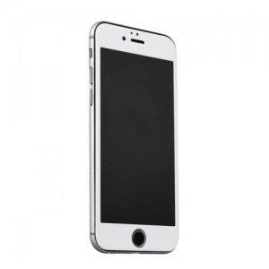 Защитное стекло для Apple iPhone 6 Plus/6S Plus - ibacks Nanometer белое