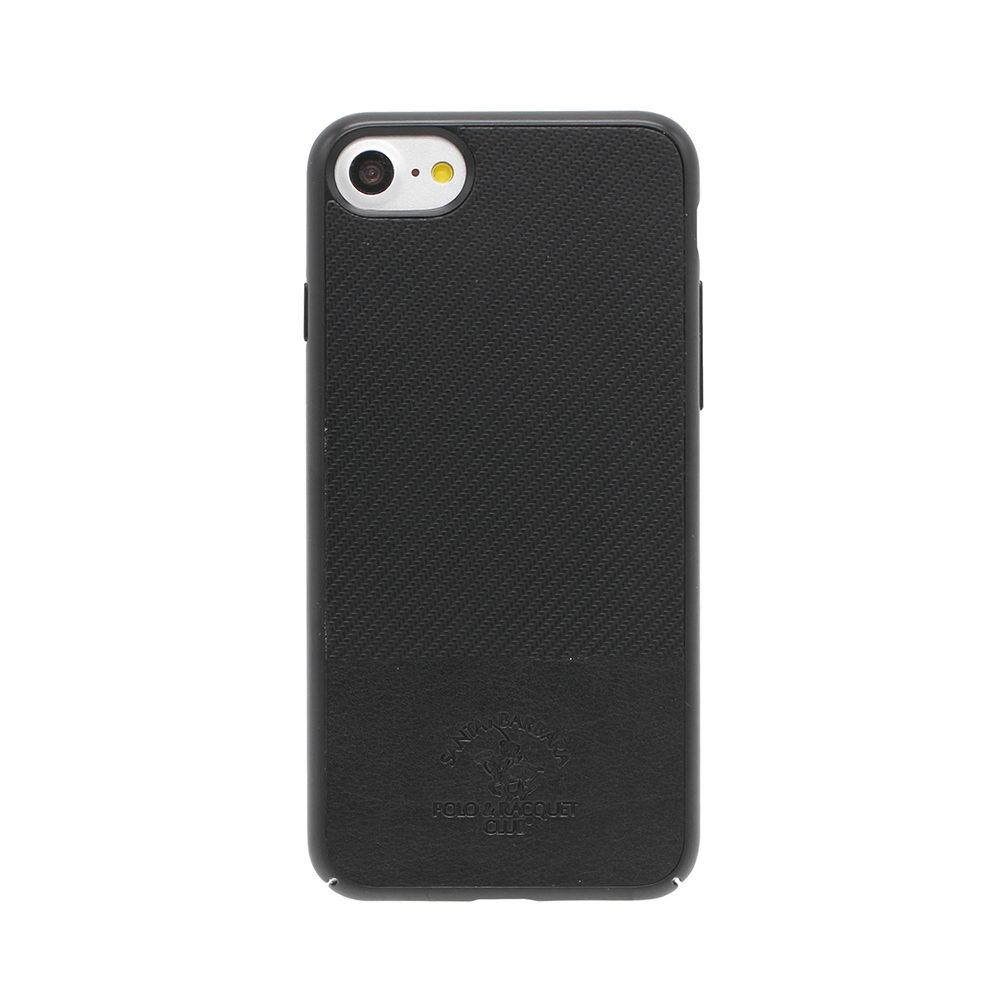 Кожаный чехол Polo Prestige черный для iPhone 8/7