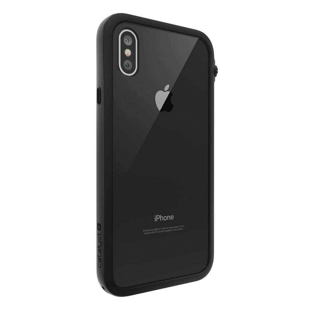 Водонепроницаемый чехол Catalyst Waterproof чёрный для iPhone X/XS