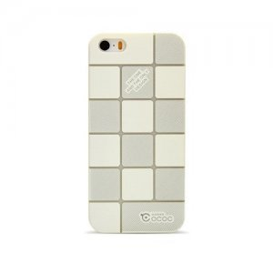 Чехол-накладка для Apple iPhone 4/4S - Cococ Square белый