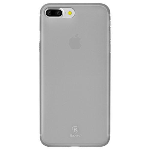 Полупрозрачный чехол Baseus Slim чёрный для iPhone 8 Plus/7 Plus